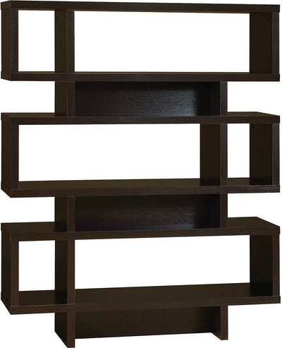 Bari Bookcase – Coffee Bean - Contemporary style Bookcase in Coffee Bean