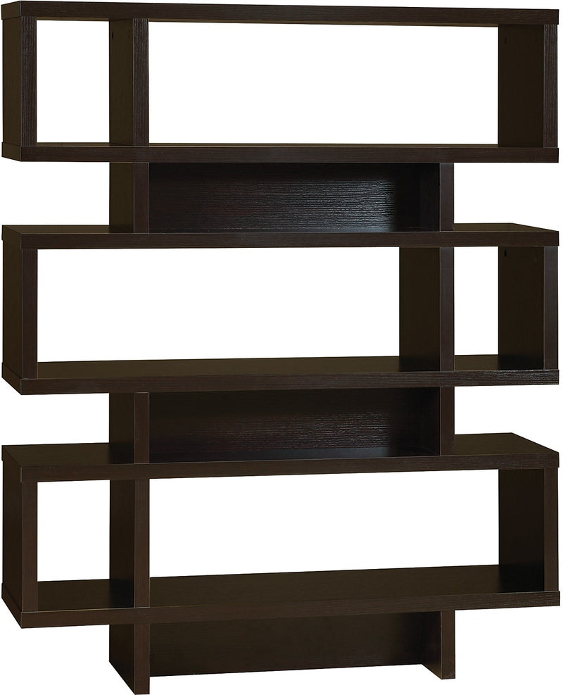 Bari Bookcase – Coffee Bean|Bibliothèque Bari