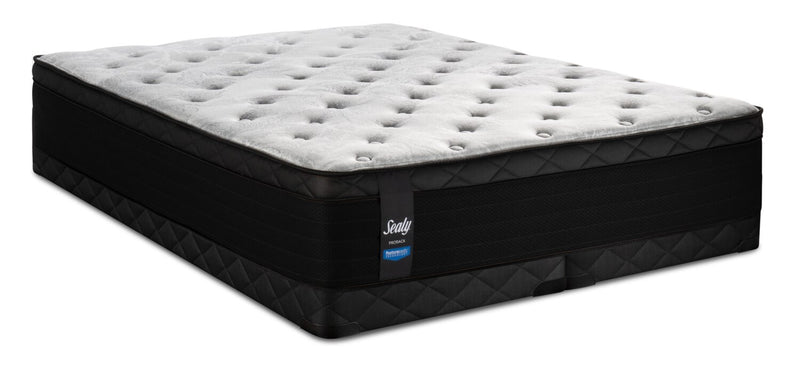 Sealy Posturepedic Proback Hanover Park Eurotop Low-Profile Split Queen Mattress Set