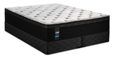 Sealy Posturepedic Proback Hanover Park Eurotop King Mattress Set