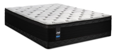 Sealy Posturepedic Proback Hanover Park Eurotop Low-Profile Queen Mattress Set