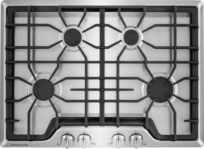 "Frigidaire Gallery 30"" Gas Cooktop – Stainless Steel - Gas Cooktop in Stainless Steel"