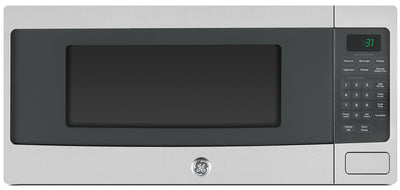 GE 1.1 Cu. Ft. Spacemaker Microwave Oven – PEM10SFC - Countertop Microwave in Stainless Steel