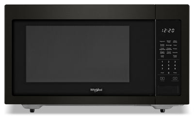 Whirlpool 1.6 cu ft, 21.75 in. Countertop Microwave, 1100 Watts|Four micro-ondes de comptoir Whirlpool®, 1100 watts,  1,6 pi3,  21,75 po|YWMC306V