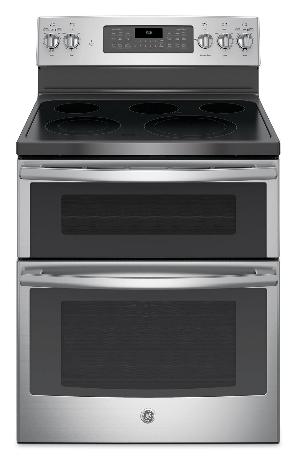 Ovensi Videos Porno ge 6.6 cu. ft. freestanding double oven electric range – jcb865sjss