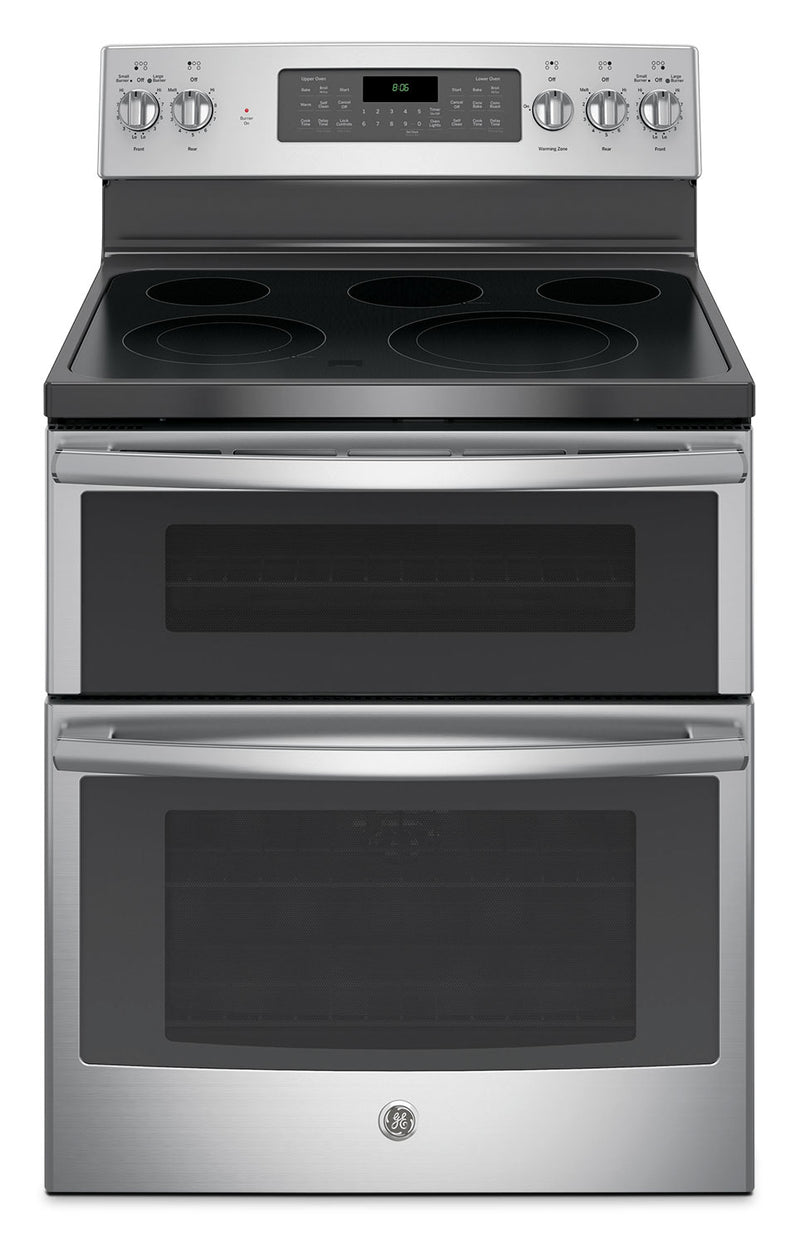 Ge 6 6 Cu Ft Freestanding Double Oven Electric Range