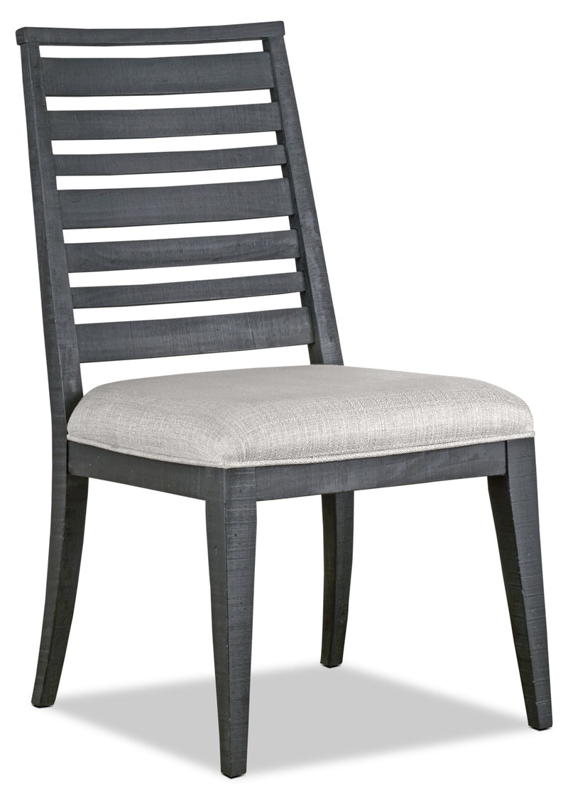Bluff Heights Dining Chair - Washed Denim|Chaise de salle à manger Bluff Heights - denim délavé|BLHTADSC