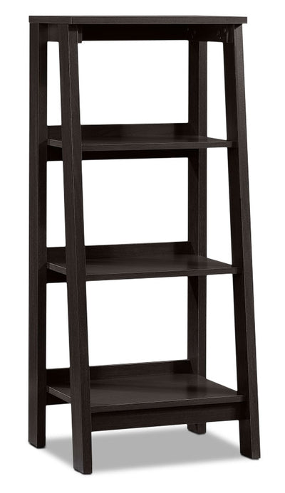 Stockbridge Bookcase with Three Shelves – Jamocha Wood|Bibliothèque Stockbridge à trois tablettes - bois jamocha|414565