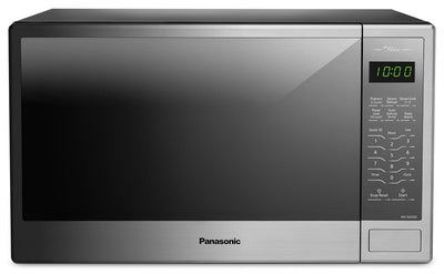 Panasonic Genius® 1.3 Cu. Ft. Countertop Microwave – NNSG656S - Countertop Microwave in Stainless Steel