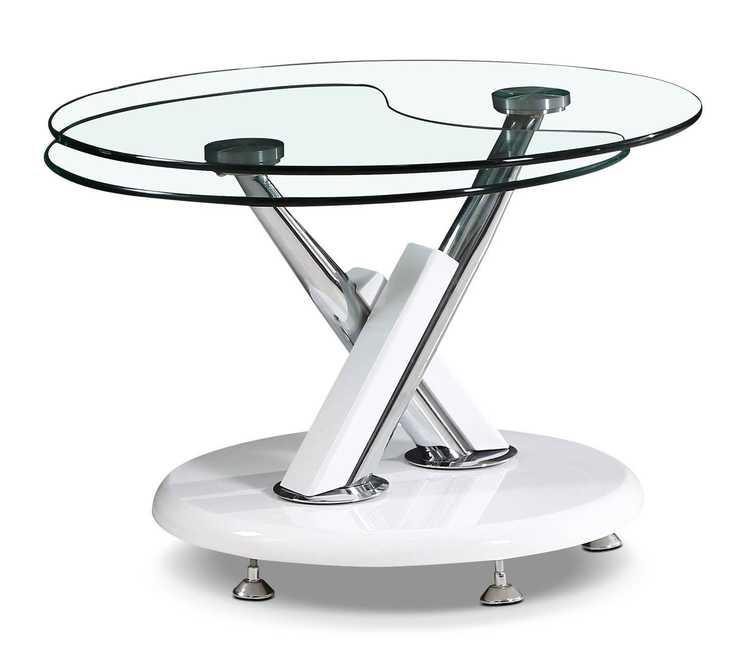 Embree Coffee Table With Extending Swivel TopTable à Café Embree