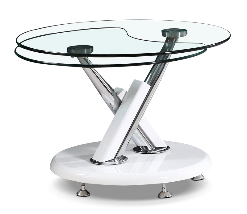 Embree Coffee Table with Extending Swivel Top|Table à café Embree