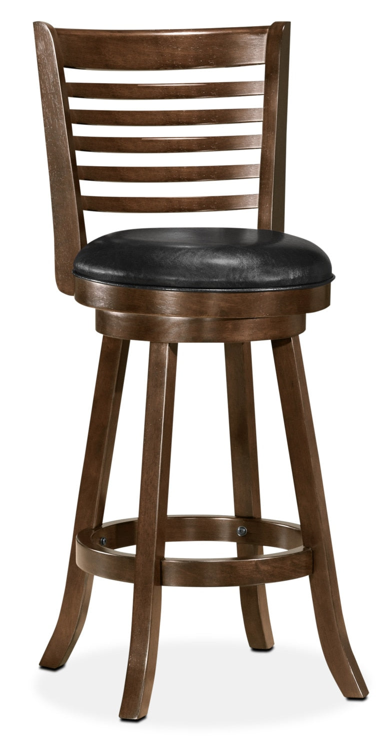 Saul Bar-Height Bar Stool – Black|Tabouret bar Saul de hauteur bar - noir