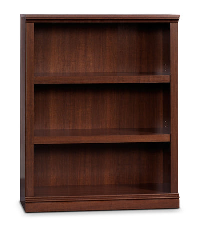 Florida Bookcase with Three Shelves – Select Cherry - Contemporary style Bookcase in Cherry