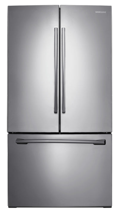 Samsung 25.7 Cu. Ft. French-Door Refrigerator – RF26HFENDSR/AA - Refrigerator in Stainless Steel