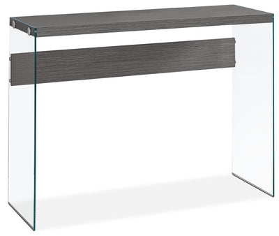 Yonah Sofa Table – Grey|Table de salon Yonah - grise|YONGRCON