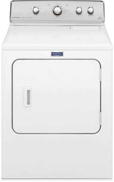 Maytag Centennial® 7.0 Cu. Ft. Electric Dryer – YMEDC555DW - Dryer in White