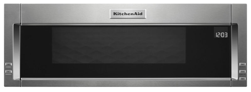 KitchenAid 1.1 Cu. Ft. Low-Profile Microwave Hood Combination – YKMLS311HSS|Four à micro-ondes à hotte intégrée et à profil bas de KitchenAid de 1,1 pi³ - YKMLS311HSS