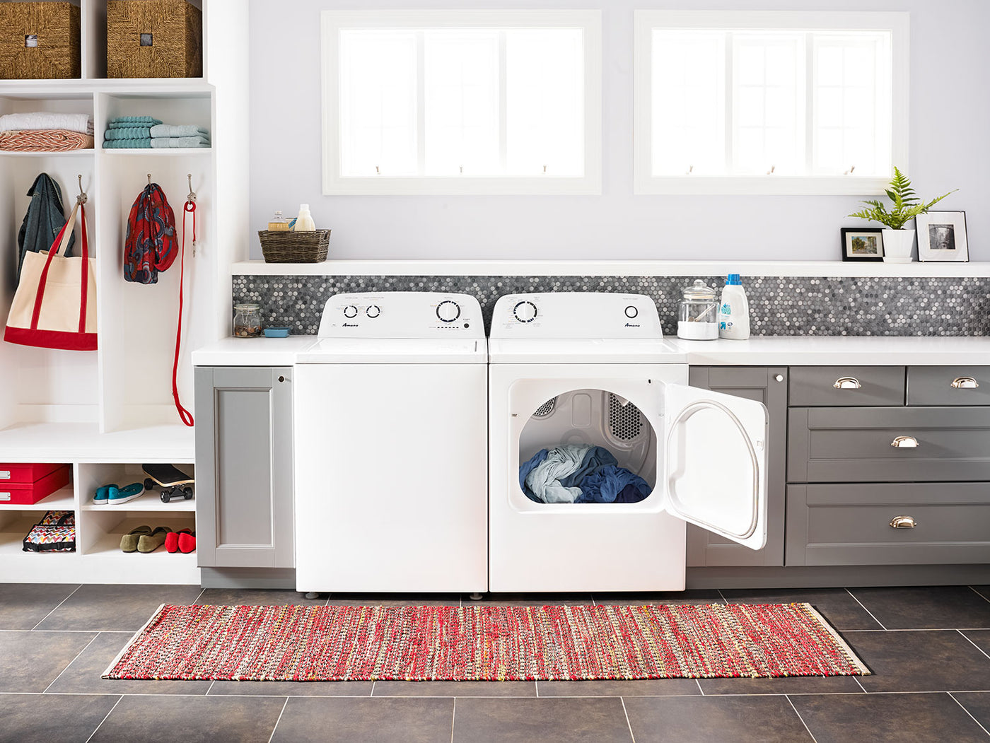 Amana 4 0 Cu  Ft  Top-Load Washer with Dual Action Agitator – NTW4516FW