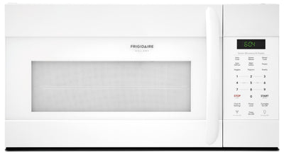 Frigidaire Gallery 1.7 Cu. Ft. Over-The-Range Microwave with Sensor Cook – CGMV176NTW - Over-the-Range Microwave in White
