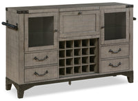 Ironworks Server and Bar Cabinet