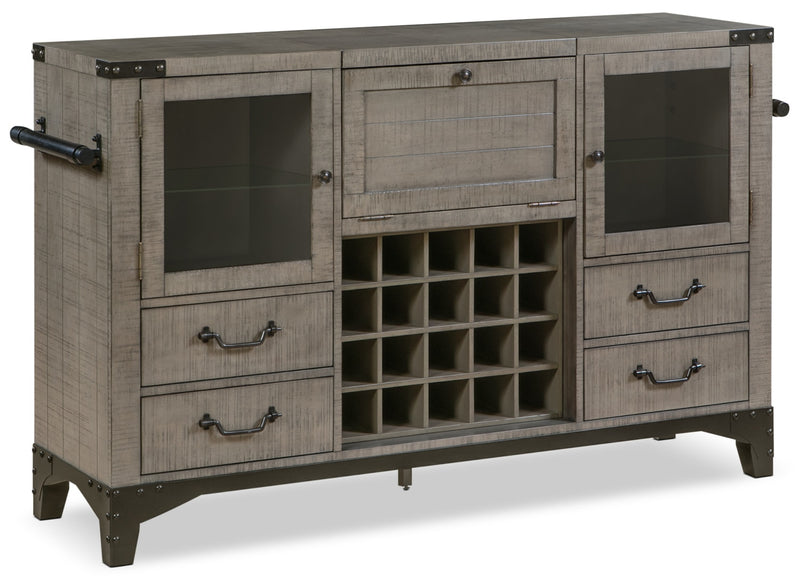 Ironworks Server and Bar Cabinet|Desserte et armoire bar Ironworks