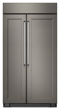 KitchenAid 25.5 Cu. Ft. Built-In Side-by-Side Refrigerator - Panel Ready