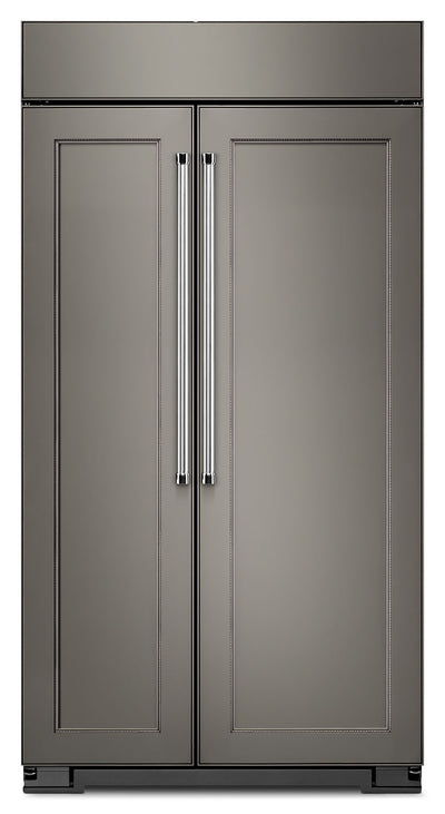 KitchenAid 25.5 Cu. Ft. Panel-Ready Built-In Side-by-Side Refrigerator - KBSN602EPA|Réfrigérateur encastré KitchenAid de 25,5 pi³ à compartiments juxtaposés - KBSN602EPA|KBSN602P