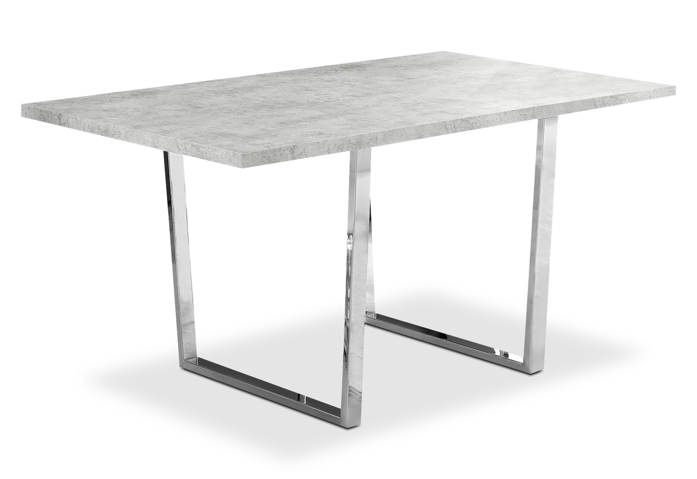 Luca piece dining package u white the brick
