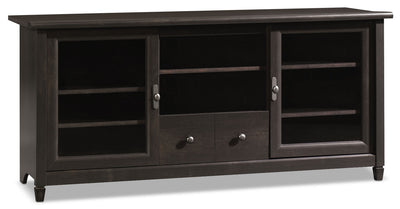 "Edge Water 59"" TV Stand – Estate Black - Country style TV Stand in Estate Black"