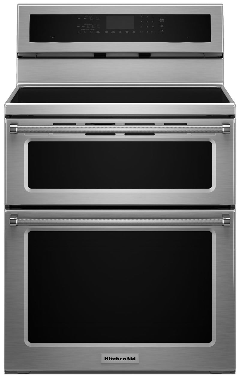 Kitchenaid 6 7 Cu Ft Double Oven Induction Convection