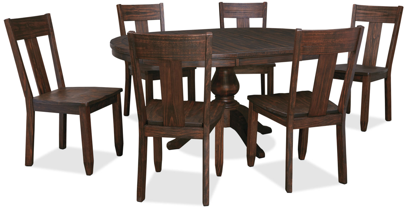 Trudell 7 Piece Round Dining Package
