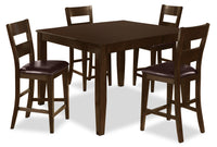 Dakota 5 Piece Counter-Height Dining Package
