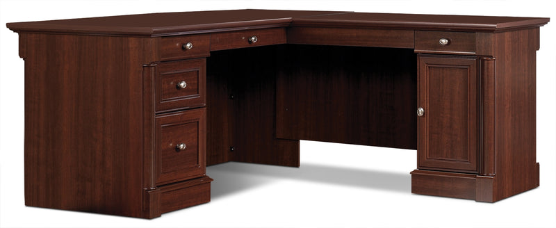Palladia L-Shaped Desk – Select Cherry|Bureau Palladia en L - cerisier raffiné