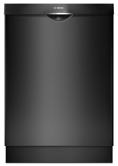 Bosch 300 Series Scoop Handle Built-In Dishwasher – SHSM63W56N - Dishwasher in Black
