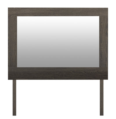 Jasper Mirror - Modern style Mirror in Slate Medium Density Fibreboard (MDF)