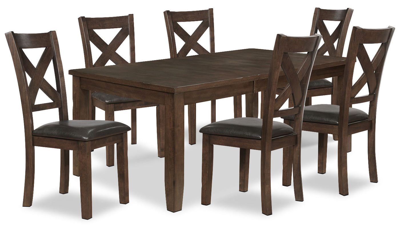 Talia 7 Piece Dining Package The Brick
