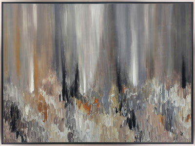 "Abstract – 48.63"" x 36.63""