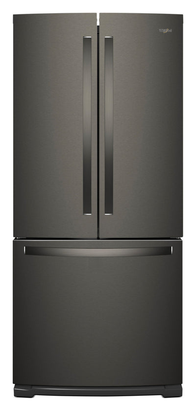 Whirlpool 20 Cu. Ft. French-Door Refrigerator with Icemaker – WRF560SMHV - Refrigerator in Black Stainless Steel