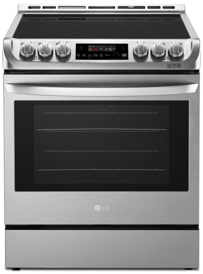 LG 6.3 Cu. Ft. Electric Slide-In Range with ProBake Convection™ – LSE4611ST - Electric Range in Stainless Steel