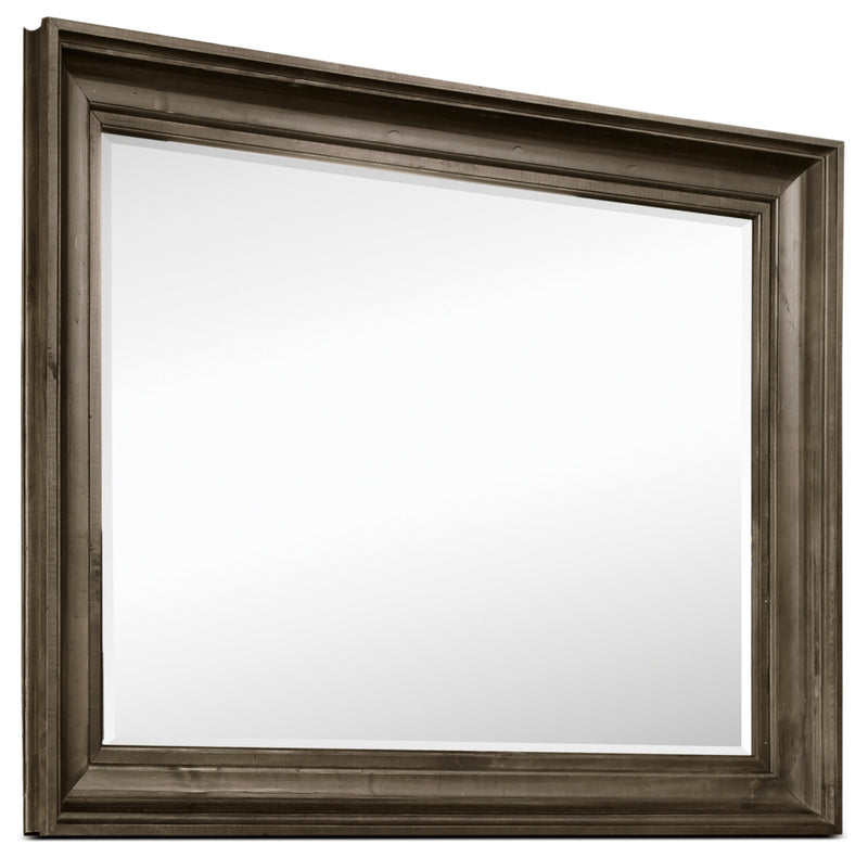 Calistoga Mirror - Weathered Charcoal|Miroir Calistoga - anthracite vieilli