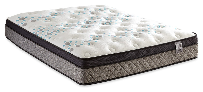 Springwall Bella Euro-Top Twin Mattress|Matelas à Euro-plateau Bella de Springwall pour lit simple