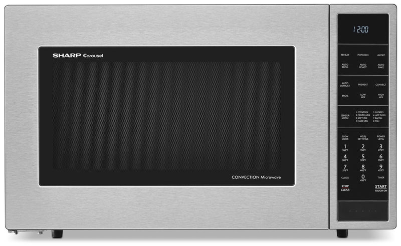 SHARP 1.5 Cu. Ft. Countertop or Built-In Convection Microwave Oven - SMC1585BS|Four À Micro-ondes Sharp À Convection - SMC1585BS