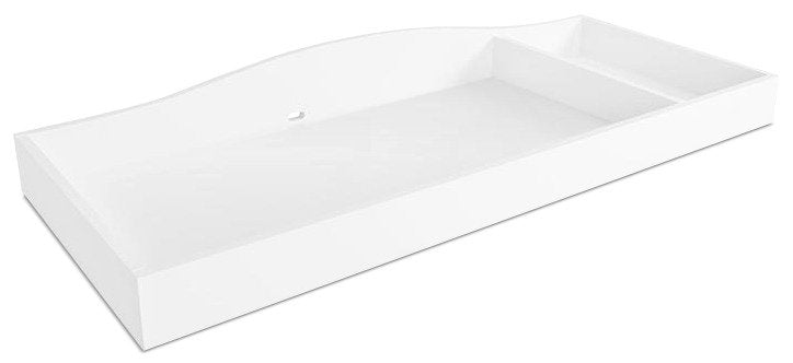 Laney Changing Station Table Topper – White|Pourtour de table à langer Laney - blanc