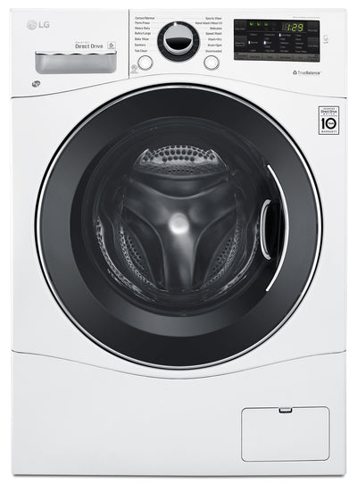 LG 2.6 Cu. Ft. Front-Load Combination Washer and Dryer – WM3488HW - Laundry Centre in White