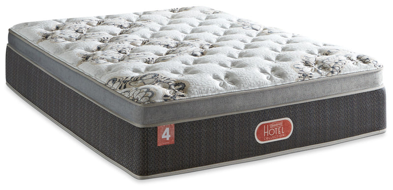 Beautyrest® Hotel Diamond 4 Luxury Firm Euro-Top King Mattress|Matelas luxueux ferme à Euro-plateau Hotel Diamond 4 de Beautyrest pour très grand lit