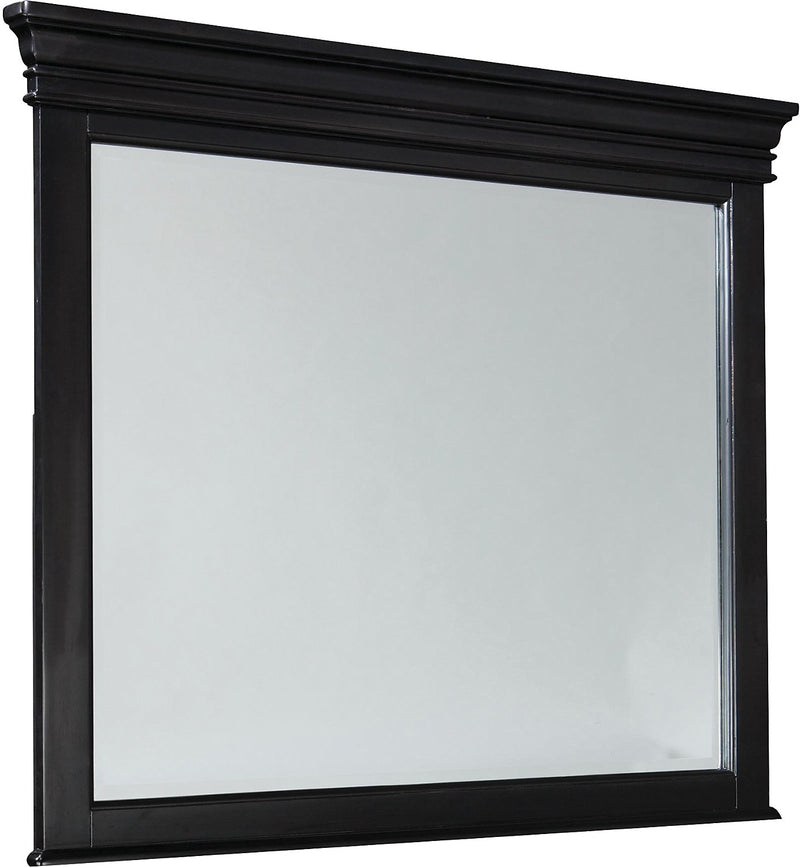 Bridgeport Mirror – Black|Miroir Bridgeport - noir