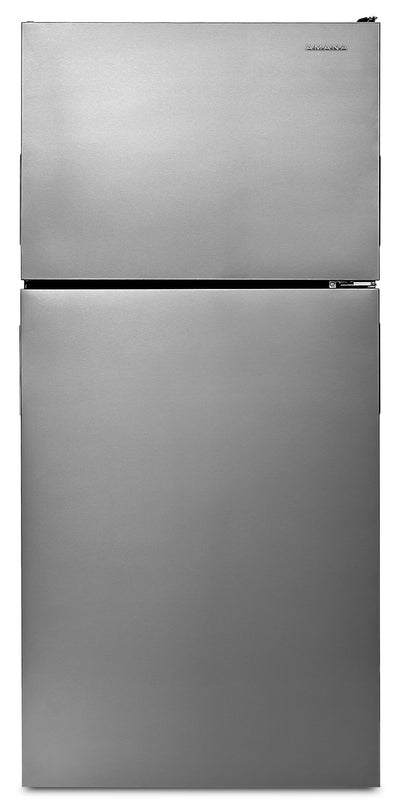 Amana 18 Cu. Ft. Top-Freezer Refrigerator – ART308FFDM - Refrigerator in Stainless Steel