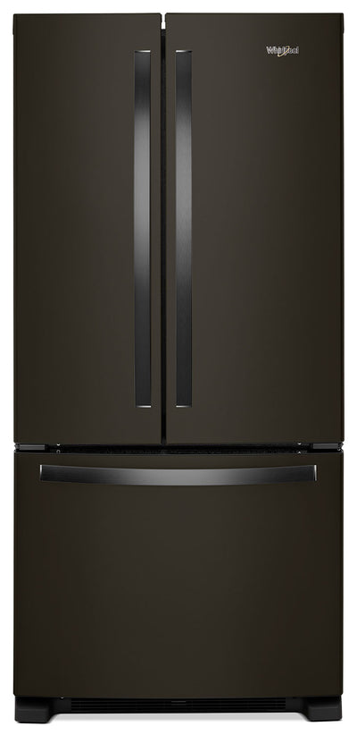 Whirlpool 22 Cu. Ft. French-Door Refrigerator with Print Resist – WRF532SMHV