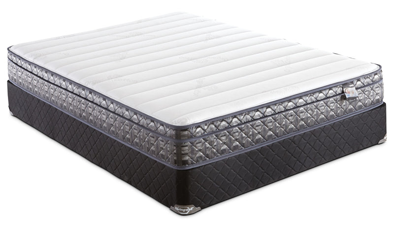 Springwall Endeavour 4 Euro-Top Firm Queen Mattress Set|Ensemble matelas ferme à Euro-plateau Endeavour 4 de Springwall pour grand lit