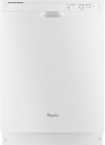 "Whirlpool 24"" Built-In Dishwasher – White - Dishwasher in White"
